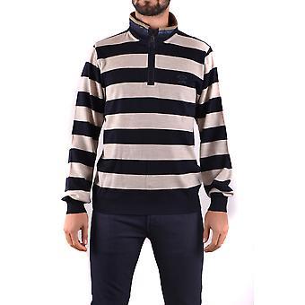 Paul & Shark Ezbc042036 Men's Blue Wool Sweater