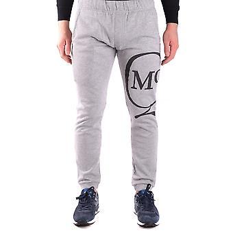Mcq Door Alexander Mcqueen Ezbc053019 Men's Grey Cotton Joggers