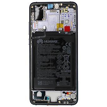 Aito Huawei P20 - Keskirunko / Alusta akulla - Hämärä - 02351WMP