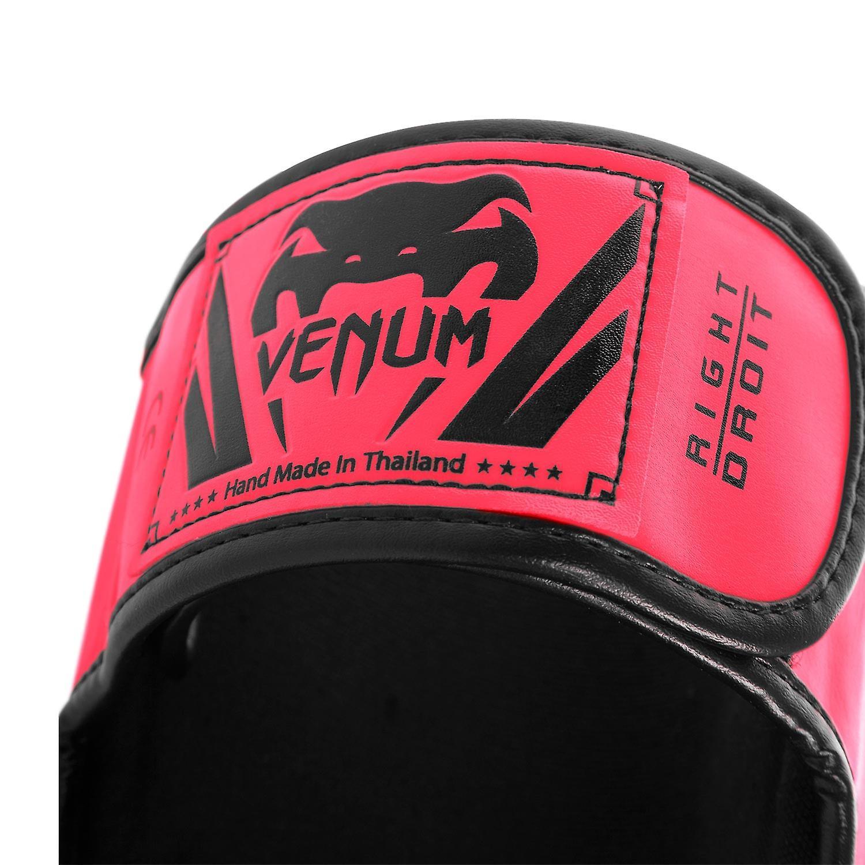 Venum Elite Standup MMA Shinguards with Instep - Neo Pink