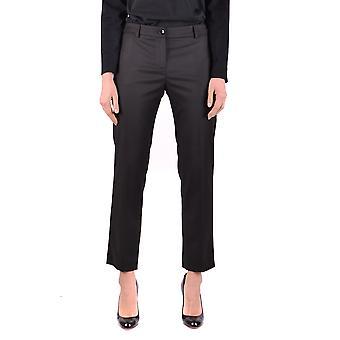 Blugirl Blumarine Ezbc103037 Pantalons en polyester noir pour femmes;s