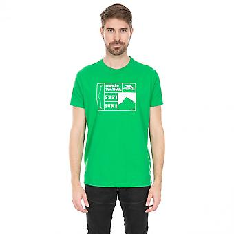 Overtreding Mens O'Toole Wicking grafische T Shirt met korte mouwen