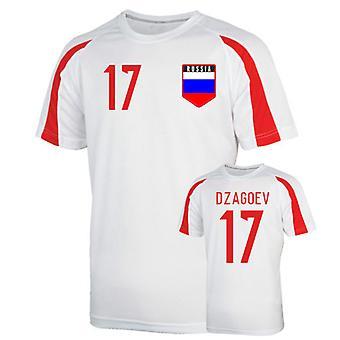 Russia Sports Training Jersey (dzagoev 17)
