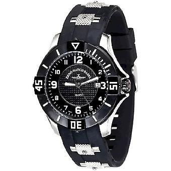 Zeno-horloge heren horloge quartz 1 datum 5415Q-SBK-h1