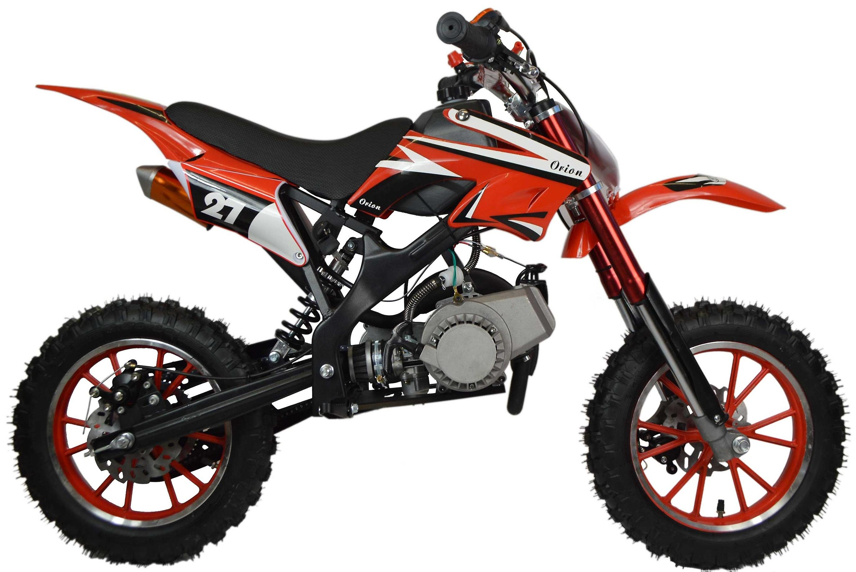 Zipper 50cc Petrol Mini Kids Dirt Motorbike - Red