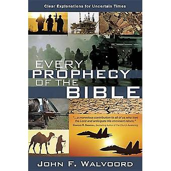 Every Prophecy of the Bible (3rd) by John Walvoord - 9781434703866 Bo