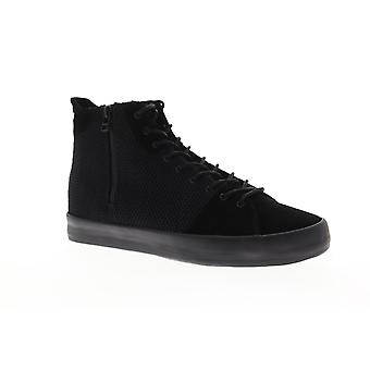 Creative Recreation Carda HI  Mens Black Zipper High Top Sneakers Shoes