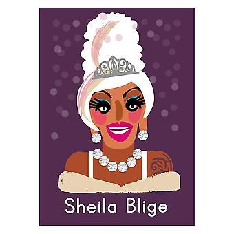 Attitude Abbigliamento Sheila Blige Life's A Drag Card