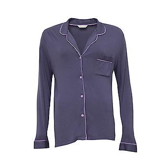 Cyberjammies 4190 naisten Laura harmaa modaalinen Revere kaulus pyjama alkuun