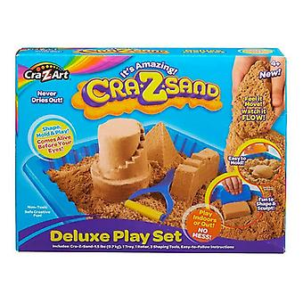 CRA-z-Art Crazsand Deluxe Play Set-ruskea hiekka