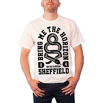 Tuo minulle Horizon T paita käärme BMTH yhtyeen logo uusi virallinen miesten valkoinen