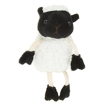 Finger Puppet - Sheep (White) New Soft Doll Plush PC020216