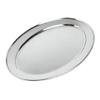 Chefmecsa Heavy Oval Tray 35 Cms. (Kitchen , Household , Trays)