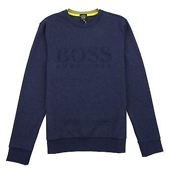 Hugo Boss Salbo Sweatshirt Blue/Yellow