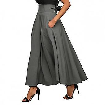 تنورة طويلة جميلة بطول الكاحل
