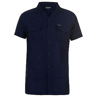 Firetrap Mens Resort Sht S83 Kortärmad Casual skjorta