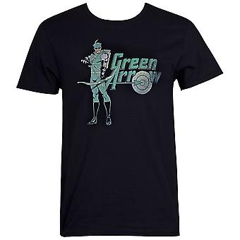 Green Arrow Character Men's T-Shirt