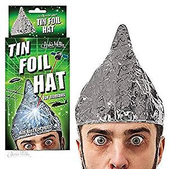 Character Goods - Archie McPhee - Tin Foil Hat - Human New 12774