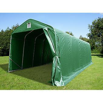 Tenda garage PRO 3,77x9,7x3,18m PVC, Verde