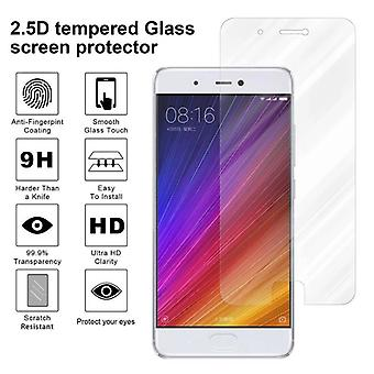 Cadorabo Tank Foil for Xiaomi Mi 5S - Protective Film in KRISTALL KLAR - Tempered Display Protective Glass in 9H Hardness with 3D Touch Compatibility