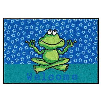 Salon lion foot mat washable Yoga frog 50 x 75 cm SLD0512-050 x 075