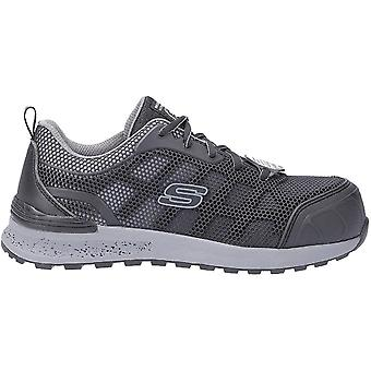 Skechers Womens/Ladies Bulken Lyndale Lace Up Athletic Safety Toe