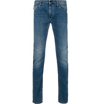 Emporio Armani Slim Fit Jeans Blue
