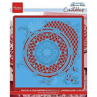 Marianne Design Creatables Anja's Circle XL Die, Blue