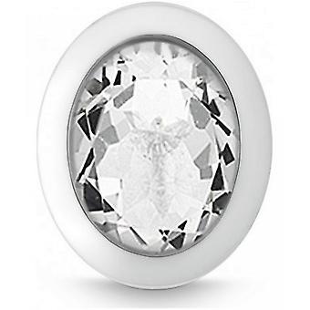QUINN-vedhæng-kvinder-sølv 925-ædelsten-hvid topas-24400920