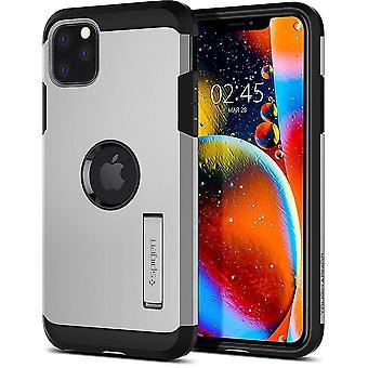 SPIGEN Tough Armor Case pour Apple Iphone 11 (6.1)-Satin Silver