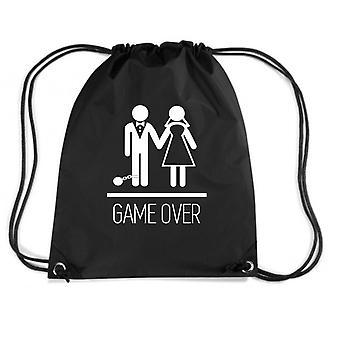 Black backpack dec0142 game over stag do funny