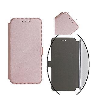 Samsung Galaxy J6 (2018) älykäs tasku mobiili lompakko-Roseguld