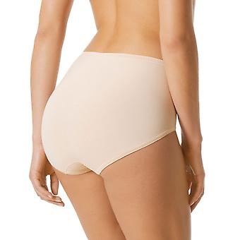 Mey Women 89344-021 Women's Triniti Puder Beige Full Panty Highwaist Brief