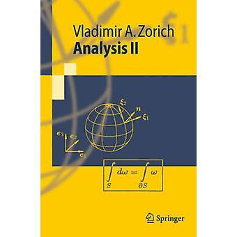Analysis v. 2 by Vladimir A Zorich