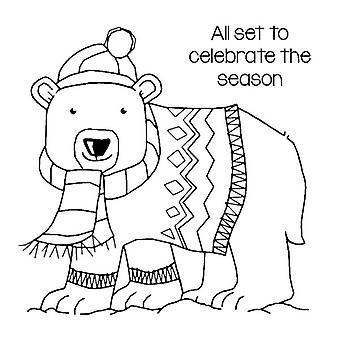 Woodware Clear Magic Singles by Francoise Read Seasonal Bear
