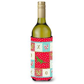 Carolines Treasures  CK5529LITERK Iguana Wine Bottle Hugger