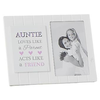 Shudehill Giftware Madison Style Auntie 4 X 6 Mdf Photo Frame