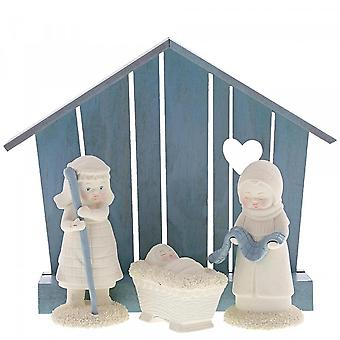 Snowbabies Christmas Nativity Set Of 4 Figurine