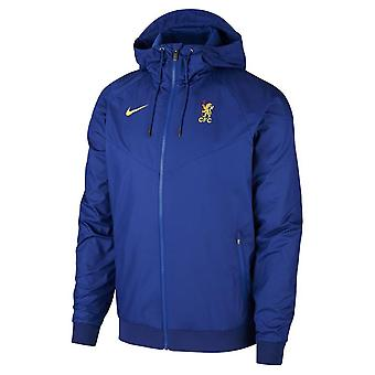 2019-2020 Chelsea Nike Authentic Cup Windrunner Jacket (Blauw)