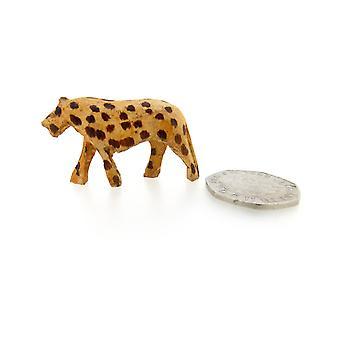 Wooden Cheetah Sculpture for Home Décor – 4.5 cm