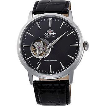 أورينت ساعة اليد الجلدية التلقائية FAG02004B0
