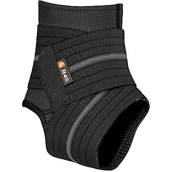 Shock Doctor Ankle Sleeve with Compression Wrap Support - Black