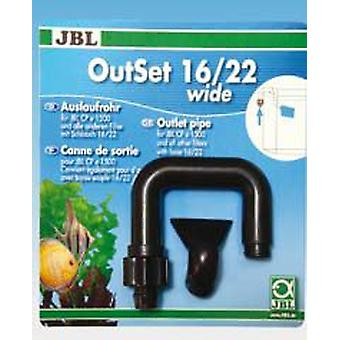 JBL OutSet Wide (Fish , Aquarium Accessories , Tubes, Suction Pads & Clips)