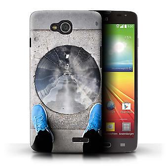 STUFF4 Case/Cover for LG L90 Dual/D410/Tunnel Vision/Imagine It