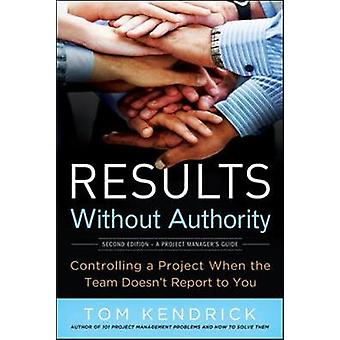 Results Without Authority Controlling a Project When the Team Doesnt Report to You by Kendrick & Tom