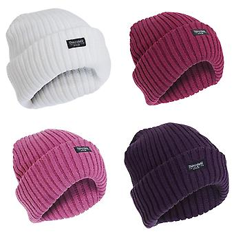 FLOSO Ladies/Womens Chunky Knit Thermal Thinsulate Winter/Ski Hat (3M 40g)