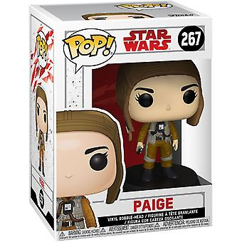 Funko Pop! Vinil Star Wars The Last Jedi Paige #267 Figura Colecionável