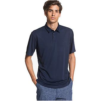 Quiksilver Waterpolo 2 Polo Shirt in Navy Iris