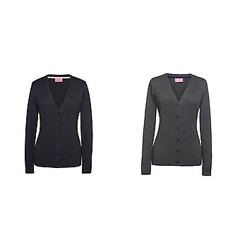 Brook Taverner Womens/Ladies Augusta V Neck Cardigan