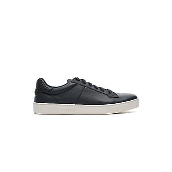 Z Zegna Lhcvoa3069xnav Men's Blue Leather Sneakers
